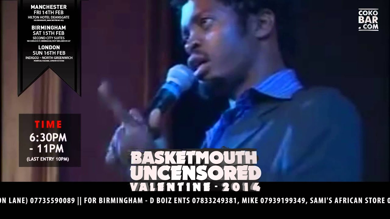 Download BASKETMOUTH - 2 THINGS INVOLVED - BASKETMOUTH UNCENSORED (Valentine Special)