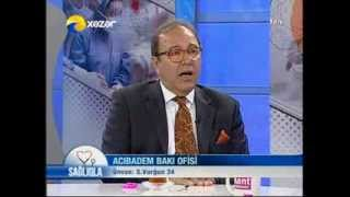 Dr. Mehmet Binnet ve Dr. Tural Ahmad Xezer TV-nin efirinde.
