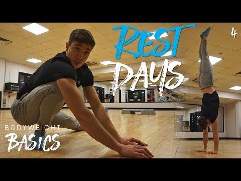 DON'T WASTE REST DAYS!   Bodyweight Basics Ep 4