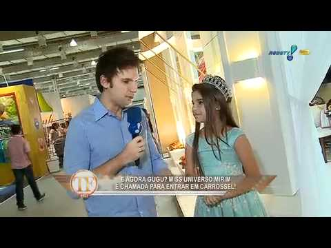 FIT 0/16 - Tv Fama - Rede Tv - Miss Universo Mirim - 12.06.12.mov Vídeos De Viagens