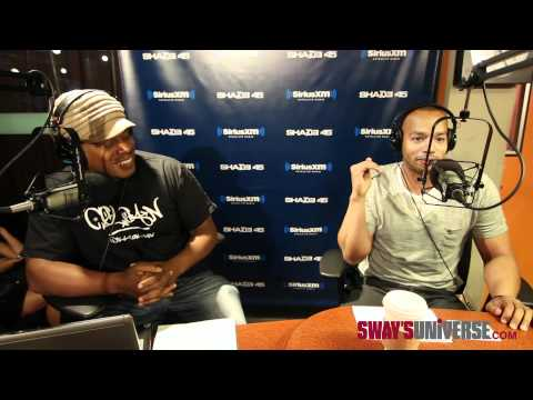Donald Faison Names his Top 3 Rappers on SwayInTheMorning