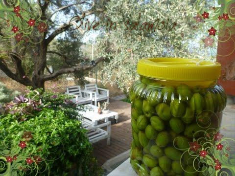 Olive in salamoia (Come le faccio io)