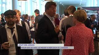 Jouy-en-Josas : Pour ses 20 ans, le MEDEF a réfléchi à l'avenir