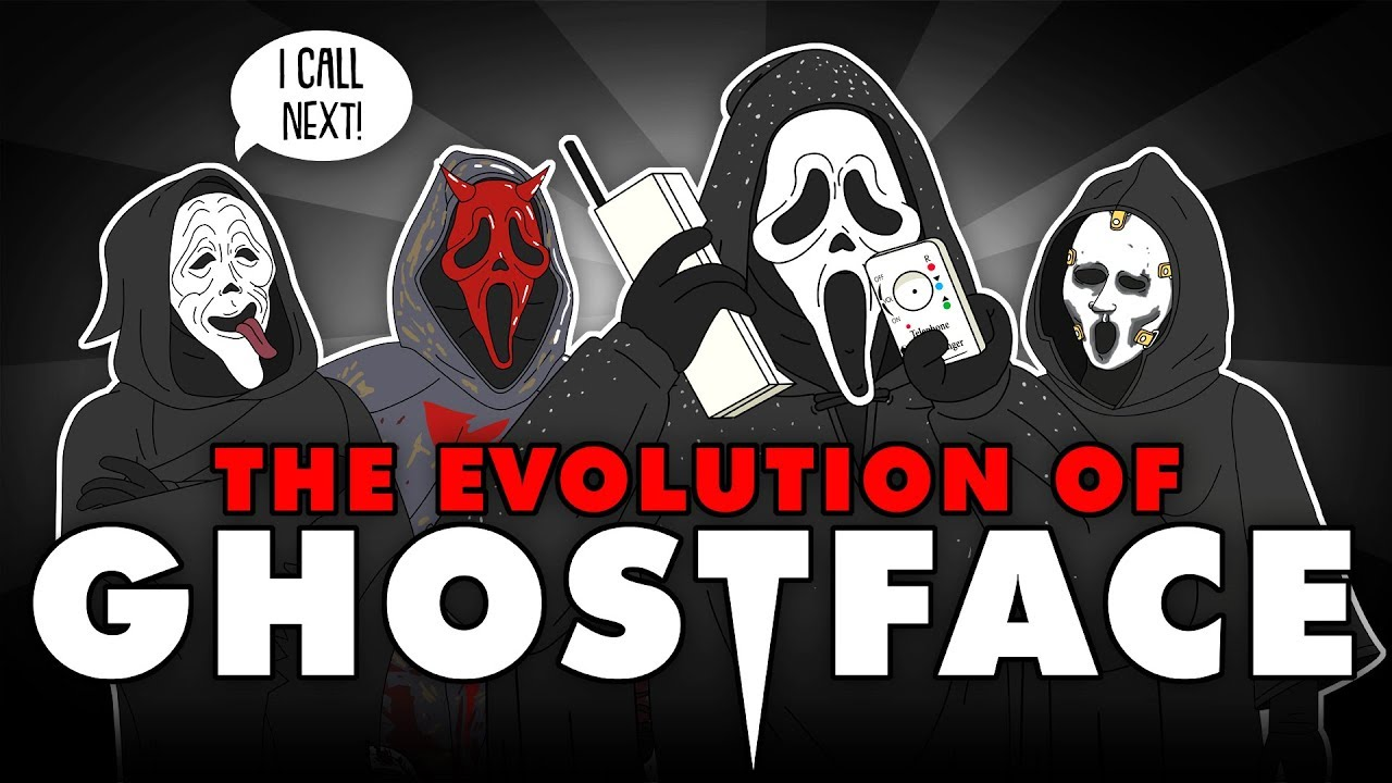 Download The Evolution Of GHOSTFACE/SCREAM (Animated)