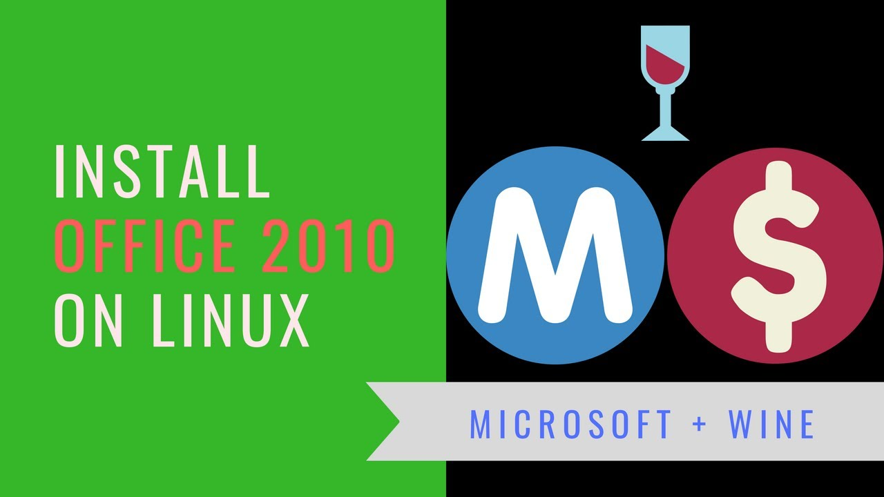 install microsoft office 2010 linux mint