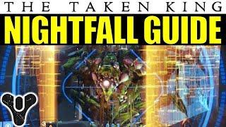 Destiny Nightfall Guide: The Undying Mind | Taken King Week 3 (Sept. 29) Nightfall Walkthrough