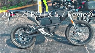 2015 Zero FX ZF57 Motorcycle Review