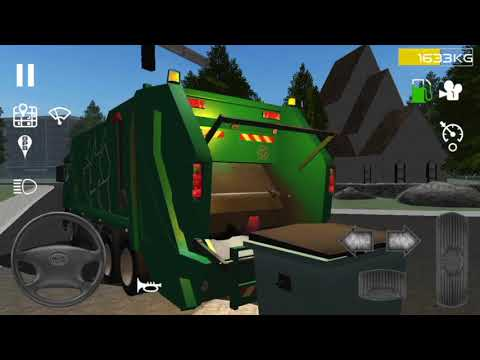 Trash Truck Simulator #1-Android iOS Gameplay