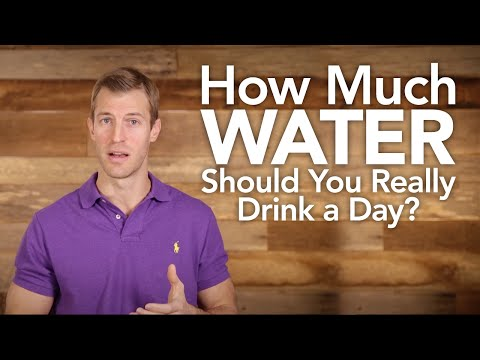 How Much Water Should You Really Drink Day