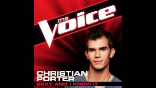 "Christian Porter: ""Sexy and I Know It"" - The Voice (Studio Version)"