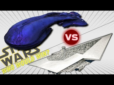 Executor Super Star Destroyer vs CSO Covenant Supercarrier (29km) | Star Wars vs Halo: Who Would Win