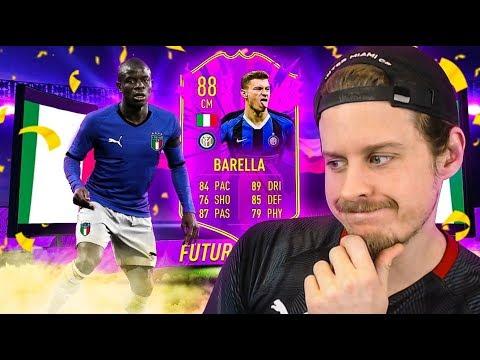 THE ITALIAN KANTE?! 88 FUTURE STARS BARELLA PLAYER REVIEW! FIFA 20 Ultimate Team