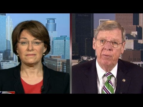 Johnny Isakson, Amy Klobuchar