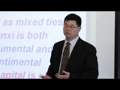 Trust, social capital and guanxi in Chinese culture - Trust in business relationships 6/13
