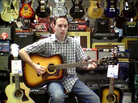 Island Music Company Guild D50DTAR Bluegrass Special Acoustic Guitar Demo