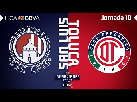 San Luis Toluca Goals And Highlights