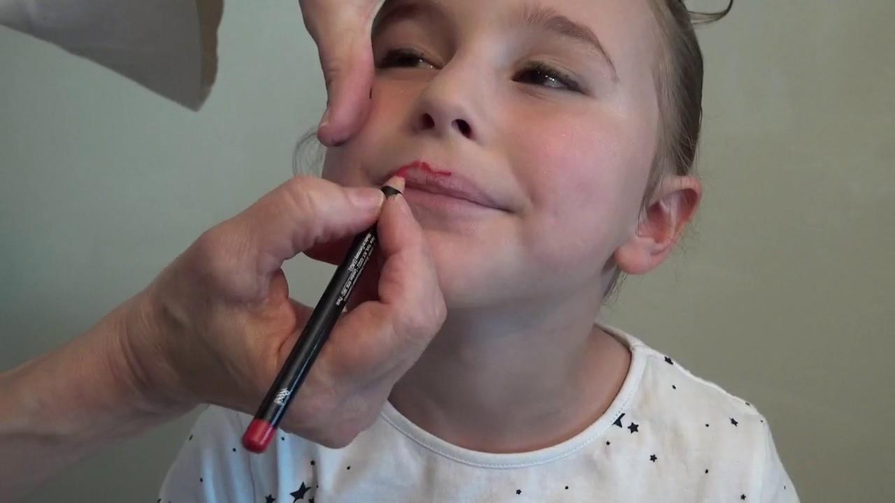 Tutoriel maquillage spectacle de danse enfant