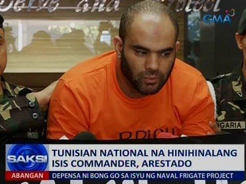 Saksi: Tunisian national na hinihinalang ISIS commander, arestado