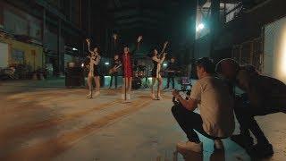 Tien Breathless MV BTS