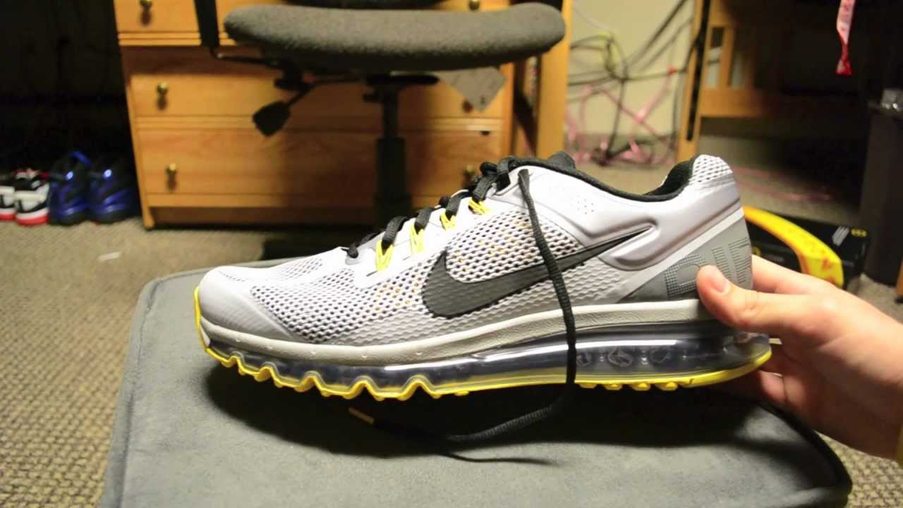 Nike Air Max 2013 LAF (Livestrong Edition)