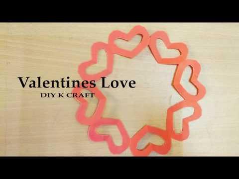 DIY valentines love craft | DIY K CRAFT