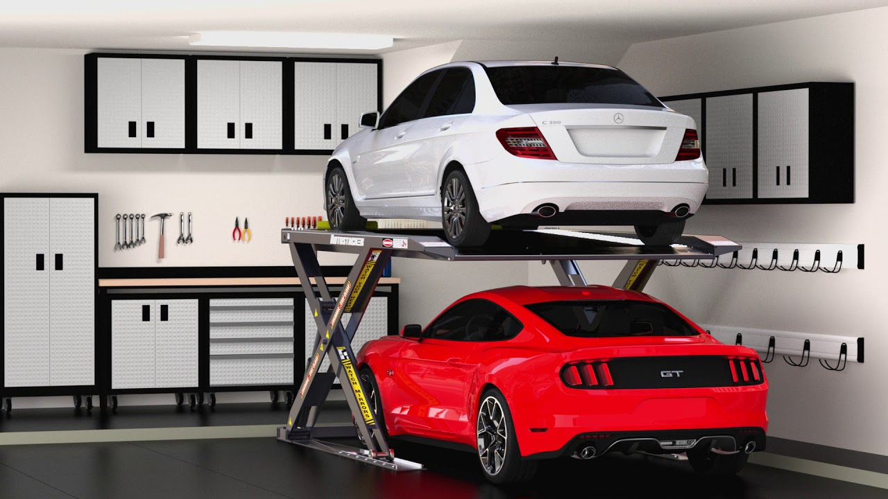 Autostacker Home Car Lift System Youtube