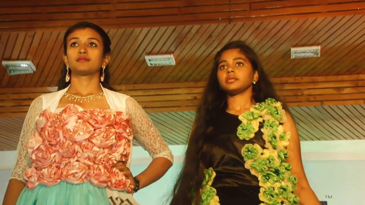 Angel College Of Engineering Technology Tirupur Fashion Show Ncft Heights Youtube