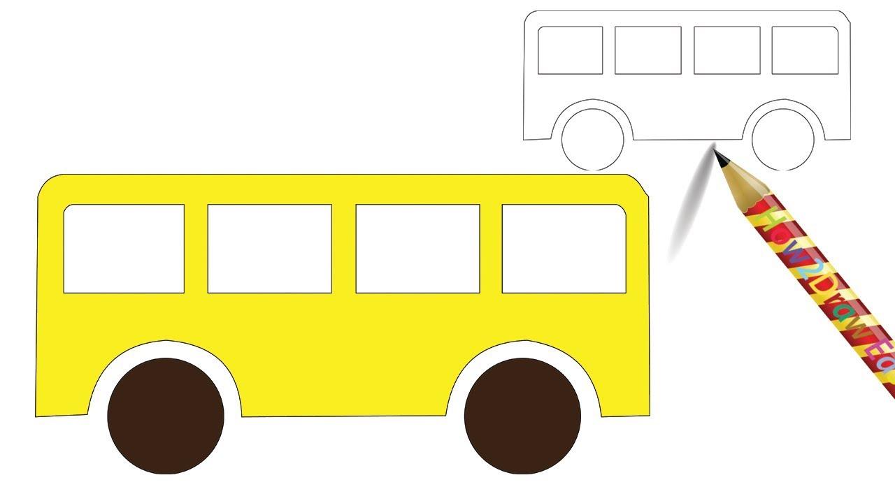 красота, картинка автобус с флажками едет по улице просто прикрывает, как