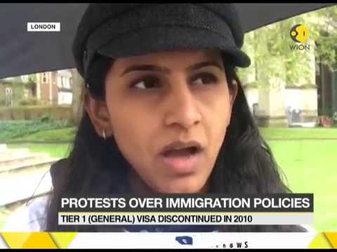 Working professionals denied visa extension in London