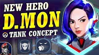 Overwatch - New Hero D.MON Main Tank Concept   Abilities & Full Hero Kit