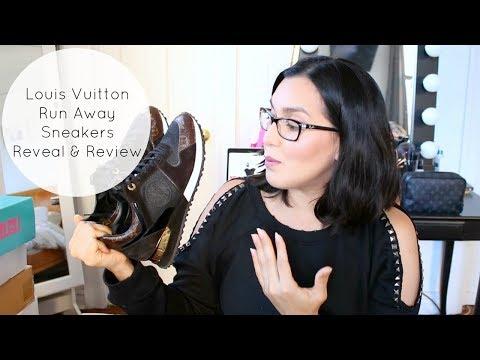 New Addiction? Louis Vuitton Run Away Sneakers