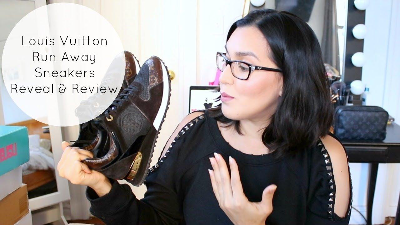 4ab801460432 New Addiction  Louis Vuitton Run Away Sneakers - YouTube