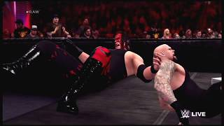 WWE 2K15 - Undertaker vs Kane Extreme Rules Match (PS3)