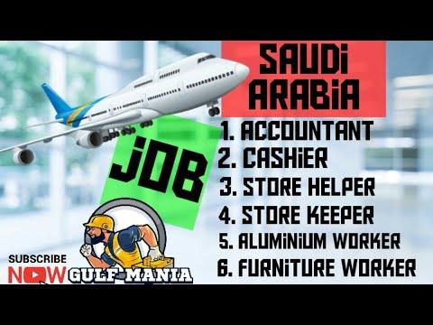 employment-job-for-accountant's- cashier- storekeeper- -for-ksa gulf-job-update-this-week-march-2020