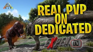 ARK SURVIVAL PVP DEDICATED (ABNORMAL GAMING) RAISING 380s 6v6 GIGA FIGHT (RATED M)(PS4PRO)