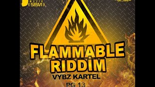 FLAMMABLE RIDDIM MIX {DJ SUPARIFIC} SEPT 2014
