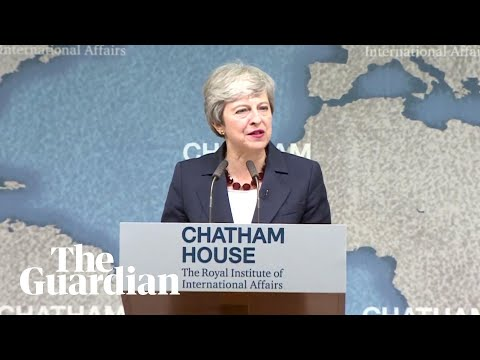 Theresa May gives speech on the state of politics – watch