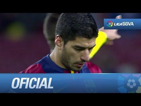 Luis Suárez decepcionado y enfadado por su sustitución