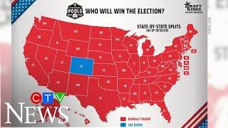 Presidential picks: Bettors are favouring Donald Trump over Joe Biden