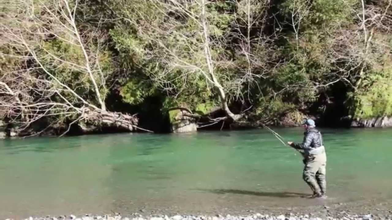 Swing north fly fishing winter steelhead california trout for Trout fishing southern california