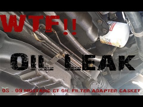 Mustang Gt Oil Filter Adapter Gasket