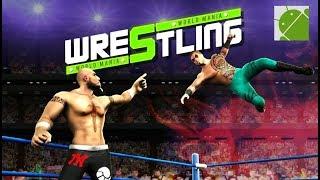 Wrestling World Mania: Wrestlemania Revolution - Android Gameplay FHD