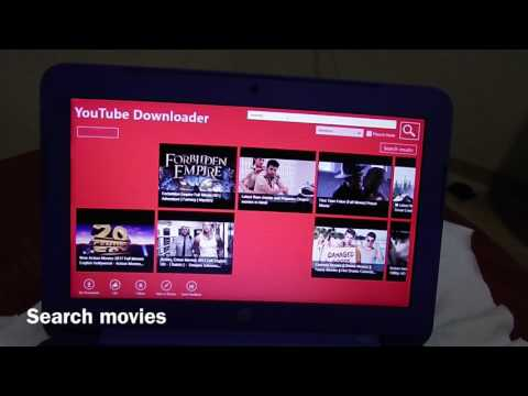 How To Download Movie And Song In YouTube In Windows 8 / HP