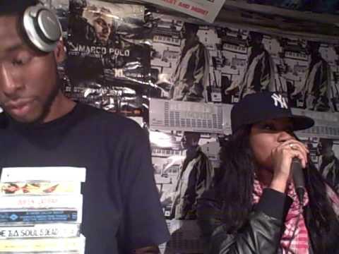 Jean Grae, 9th Wonder & Talib Kweli Live @ Fat Beats NY 12.10.08 Pt.1