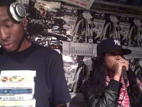 Jean Grae, 9th Wonder & Talib Kweli Live @ Fat Beats NY 12.10.08 Pt.1