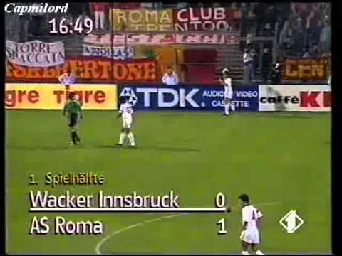 Coppa UEFA 1992-1993 Wacker Innsbruck - Roma