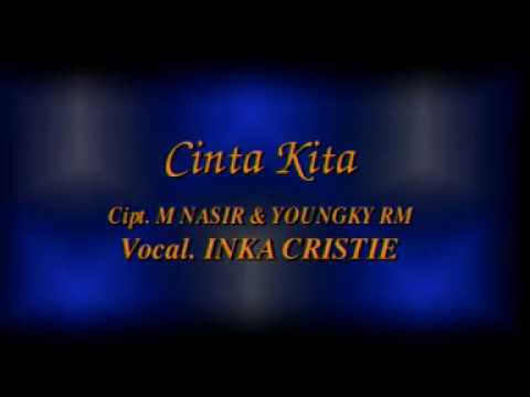 KARAOKE CINTA KITA # THE BEST OF INKA CHRISTIE # INDONESIA # LEFT