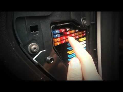 Interior lights, electric windows & door lock failure