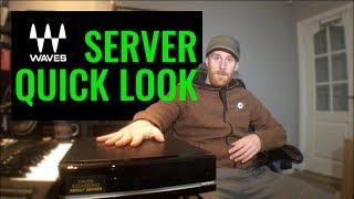 Waves Soundgrid Server - Quick Look