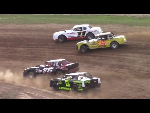 Pure Stock Heat Two | McKean County Raceway | 7-30-17